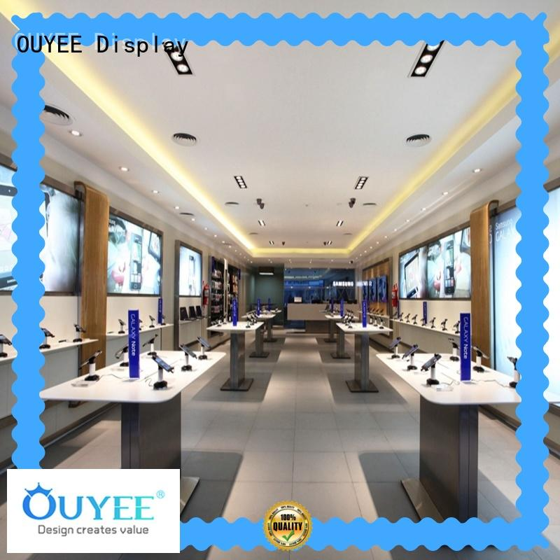 OUYEE high quality mobile shop counter furniture design fast installation for decoration