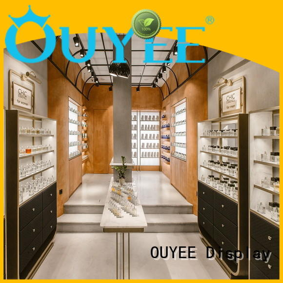 OUYEE funky style fancy showcase durable for supermarket