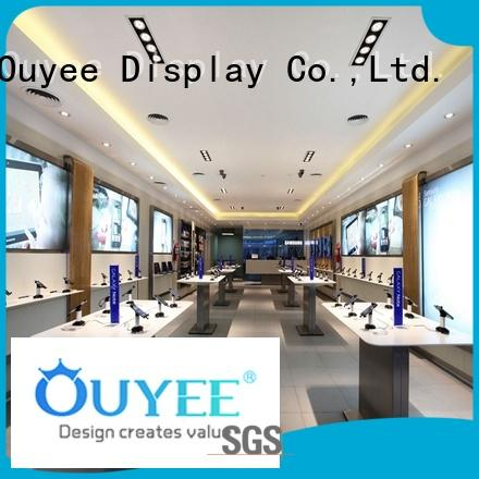 OUYEE Brand store interior electronic shop display manufacture