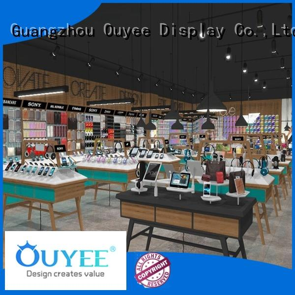 mobile shop display showcase for decoration OUYEE
