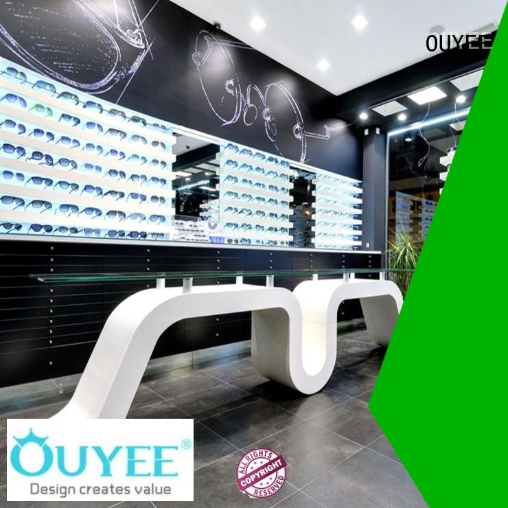 top brand eyeglass cabinet for wholesale OUYEE