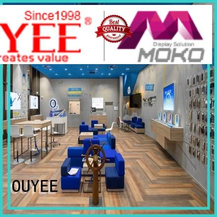 OUYEE mobile display counter showcase for electronics