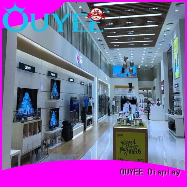 OUYEE Brand mdf phone phone repair kiosk shop supplier
