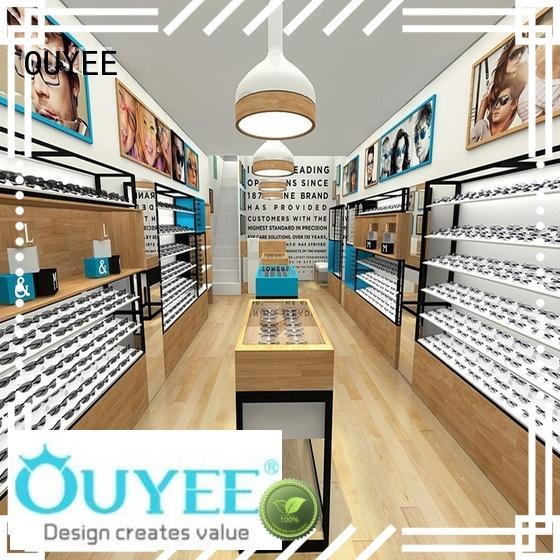 eyewear displays rods store optical displays OUYEE