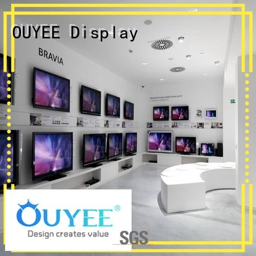 shop fixtures showcase OUYEE Brand electronic shop display
