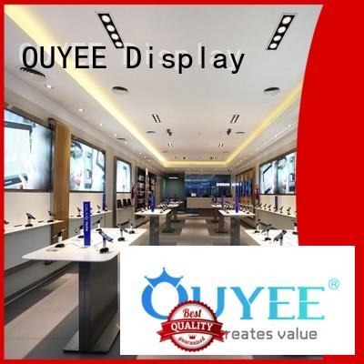 Hot electronic shop display mdf OUYEE Brand