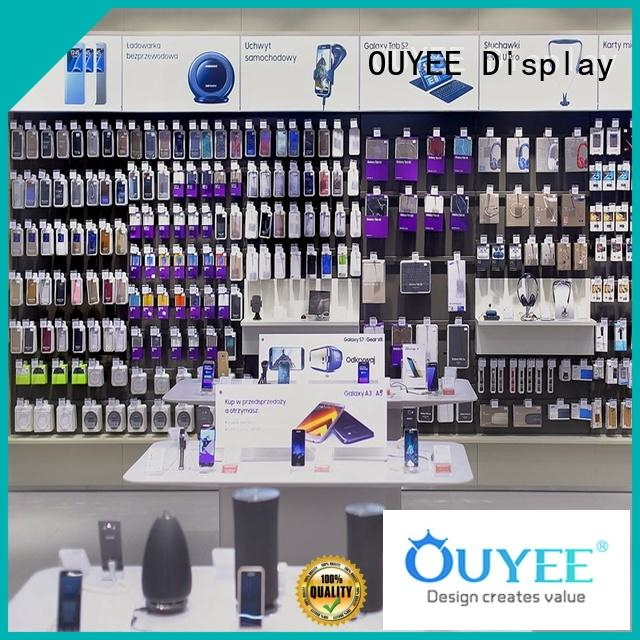 OUYEE hot-sale mobile phone shop counter design fast installation