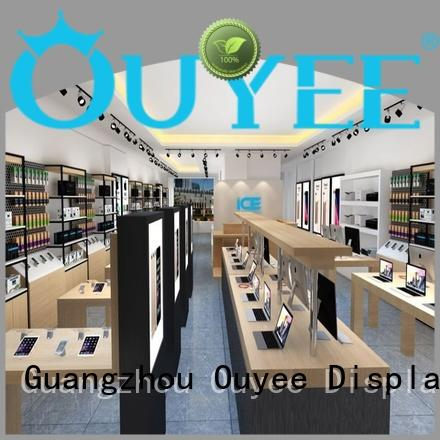 OUYEE high quality mobile shop furniture design plywood for store