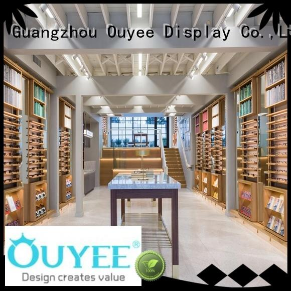 popular optical display cabinets for wholesale for store OUYEE