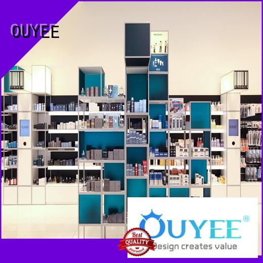 Custom kiosk counter perfume stand OUYEE display