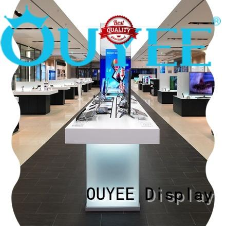 mobile phone shop counter design showcase for decoration OUYEE