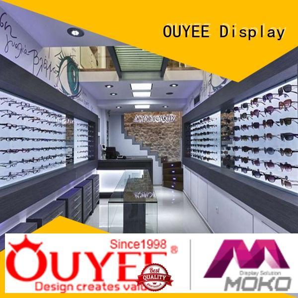 wooden eyewear cabinet top brand OUYEE