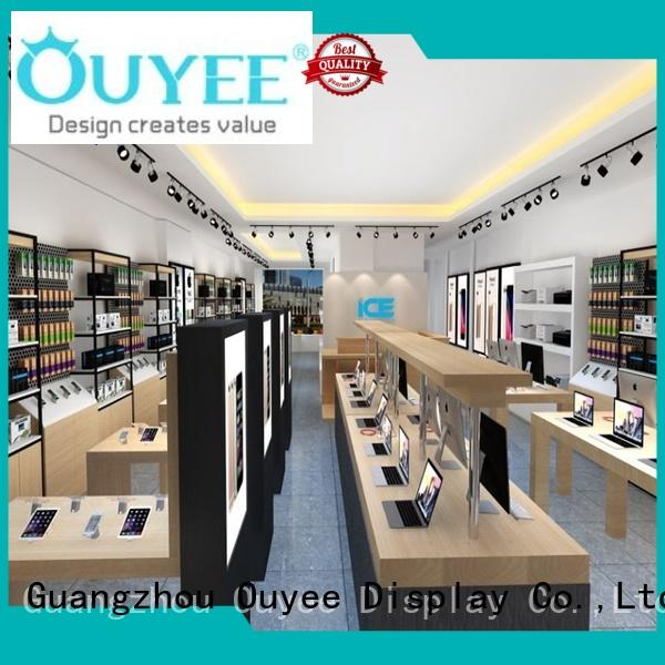 OUYEE custom mobile shop counter design for sale for decoration
