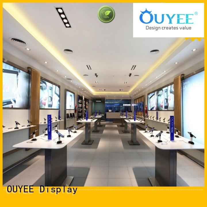 OUYEE wooden small mobile shop design fast installation