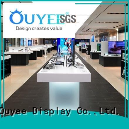 displays cabinet display electronic shop display kiosk OUYEE