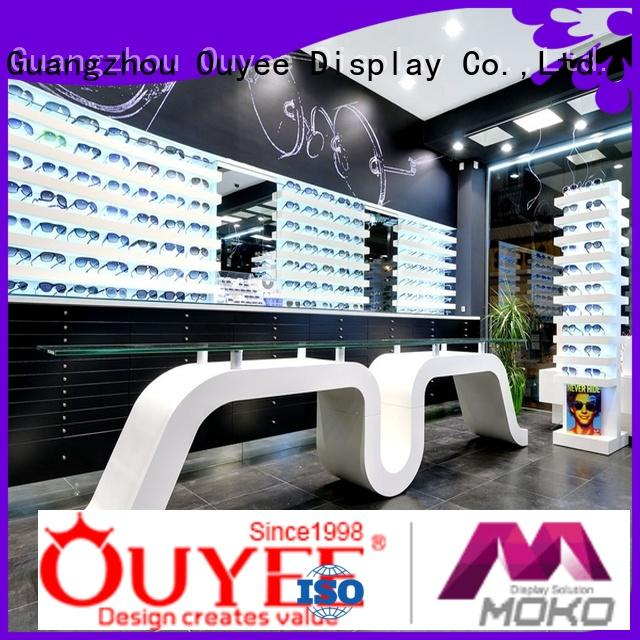 showcase shop glasses eyeglass display stand OUYEE Brand