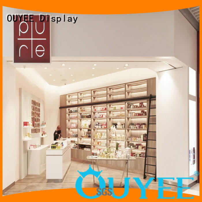 Quality OUYEE Brand showcase perfume stand