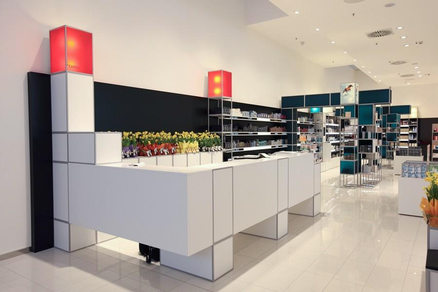 durable perfume shop design custom for supermarket OUYEE-2