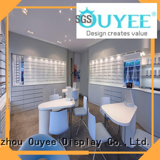 units eyeglasses counter furniture OUYEE Brand optical displays supplier