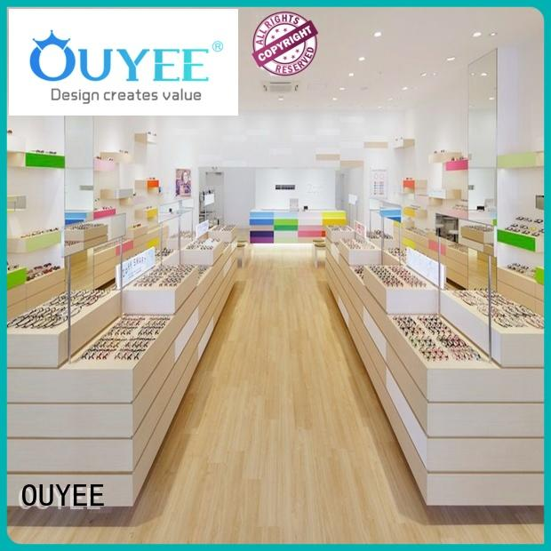 OUYEE high quality eyeglass display box at discount for shop