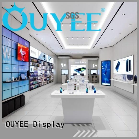 phone repair kiosk shop mdf table OUYEE Brand
