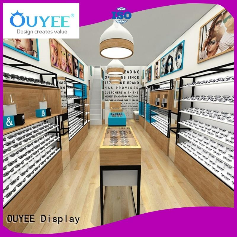 OUYEE popular optical shop equipment wooden for supplier