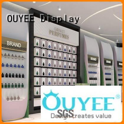 mall table display perfume rack stand OUYEE Brand