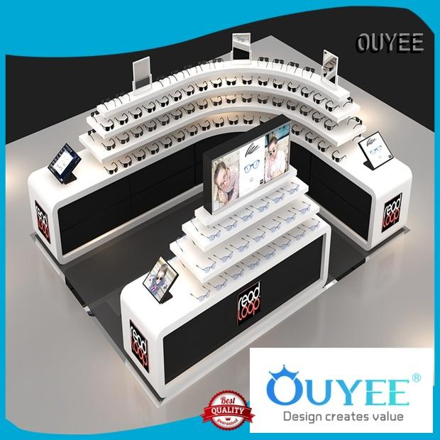 shelves showroom glasses OEM optical displays OUYEE