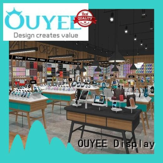 OUYEE top brand oppo display counter fast installation for store