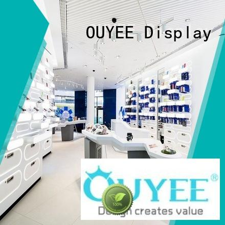 OUYEE cell phone display case fast delivery for electronics