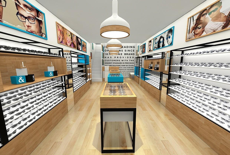 OUYEE popular optical shop equipment wooden for supplier-1