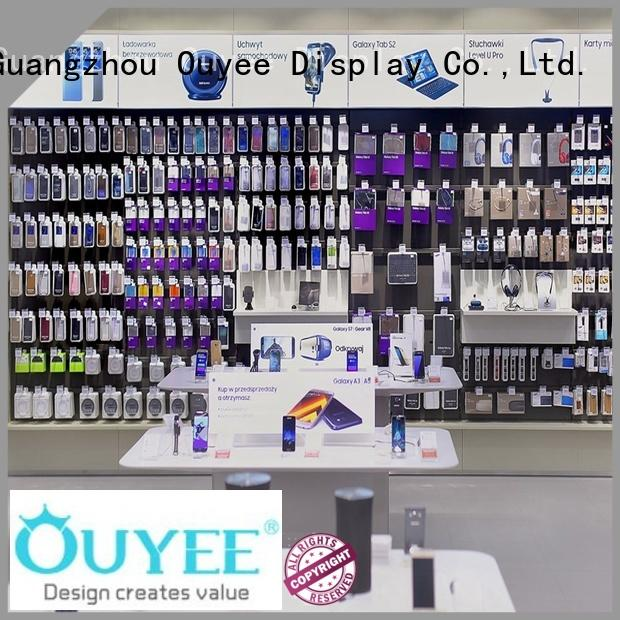 plywood mobile shop counter showcase for store OUYEE