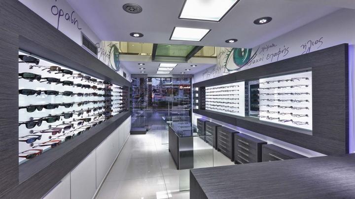wooden eyewear cabinet top brand OUYEE-1