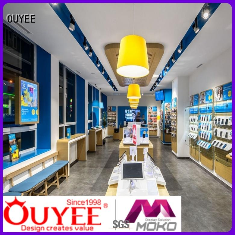 wooden mobile shop design bulk production for decoration OUYEE