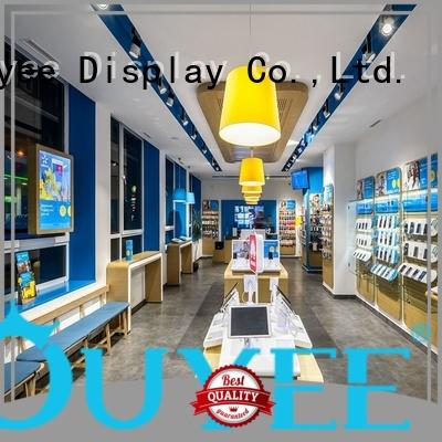 OUYEE showcase phone shop design free delivery